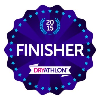Dryathlon badge